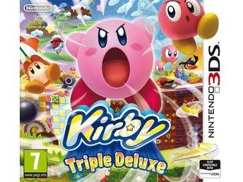 Kirby Triple Deluxe - Nintendo 3DS - Varberg - Kirby Triple Deluxe - Nintendo 3DS - Varberg