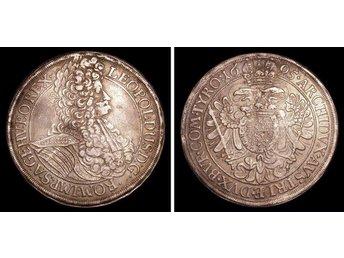 Austria Thaler Leopoldus 1695 - Szczecin - Austria Thaler Leopoldus 1695 - Szczecin