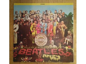 LP, THE BEATLES, SGT. PEPPERS LONELY HEARTS CLUB BAND, 1967
