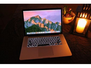 "Apple Macbook Pro Retina 15"" Sent 2013 - Intel i7 Quadcore - 256GB SSD"