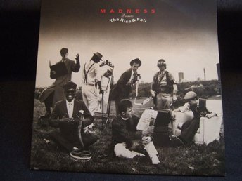 LP - MADNESS. Presents the Risen and Fall. 1982