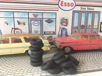 Däck Corgi Toys 15mm svarta mönstrade 8st - Kristinehamn - Däck Corgi Toys 15mm svarta mönstrade 8st - Kristinehamn