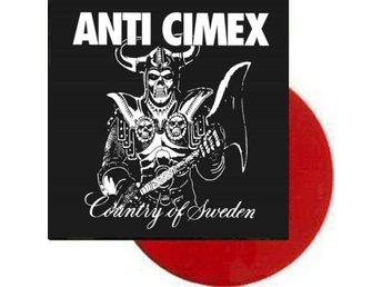 Anti Cimex ‎–Country of Sweden lp w/gatefold cover hardcore