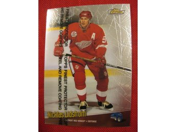 NICKLAS LIDSTRÖM DETROIT RED WINGS - TOPPS FINEST 1998-1999 - 98-99
