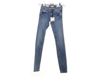 Perfect Jeans Gina Tricot, Jeans, Strl: 32, Blå