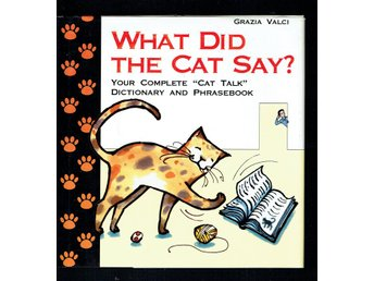 What did the cat say? (På engelska)