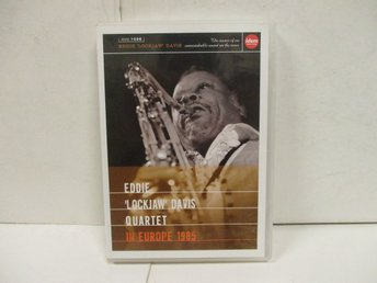 "Eddie ""Lockjaw"" Davis Quartet - In Europe 1985 - MKT FINT SKICK!"