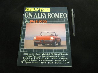 Road&Track On Alfa Romeo 1964-1970