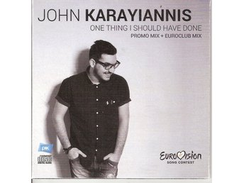 Eurovision  2015 Cyprus: John Karayiannis – One Thing I Should Have Done – CDS