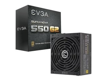 PSU EVGA Supernova G2 550W 80+ Gold