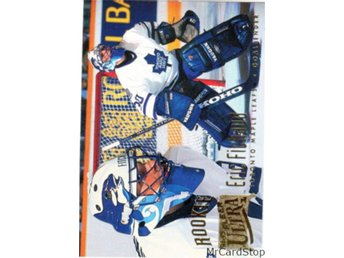 Ultra 1994-95 376 Eric Fichaud RC Toronto Maple Leafs