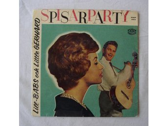 LILL-BABS & LITTLE GERHARD - Spisarparty, Swe-1959 EP