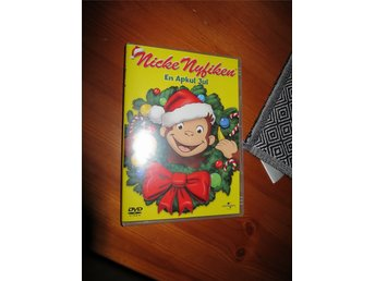 # DVD Nicke Nyfiken - En apkul jul