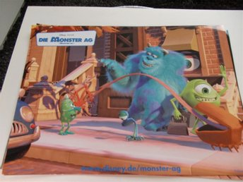 MONSTERS INC Disney Pixar ÅR 2002 FOTO 1