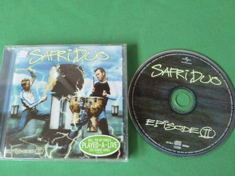 SAFRI DUO,   EPISODE II,    CD, CD-SKIVA
