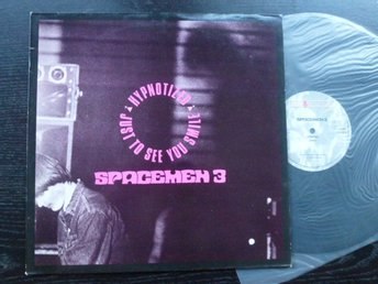 "SPACEMEN 3 - Hypnotized 12""  Fire UK -89"