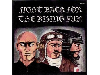 V/A-Fight Back For The Rising Sun-CD US Press 2000-Japanska Punk/Oi Band-Near M