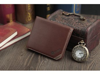 SEVJINK Wallet - Dark Brown