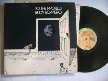 "RUDY ROMERO ""to the world "" G.Harrison MYCKET RAR LP"