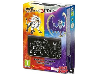 Nintendo New 3DS XL Solgaleo and Lunala Limited Edition