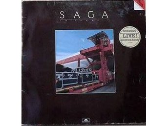 Saga title*  In Transit*  Prog Rock, Pop Rock LP Germany
