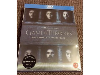 Game of Thrones säsong 6 Blue ray. Ny!