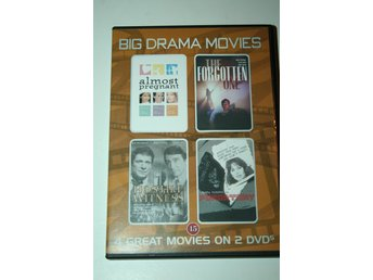 Big drama movies - 4 filmer - Almost pregnant m.fl. (2-disc DVD)