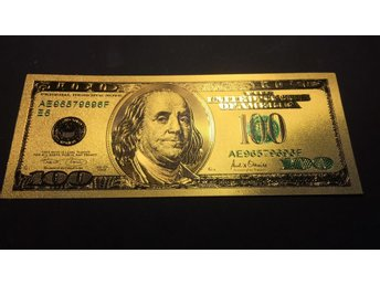 USA 100 Dollar 24K GOLD