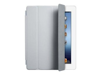 Apple iPad 2, 3 & 4 Smart Cover Poliurethane - Light Grey (Ord. 499kr)