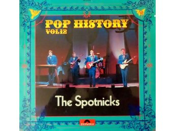 The Spotnicks - Pop History vinyl 2 LP-skivor