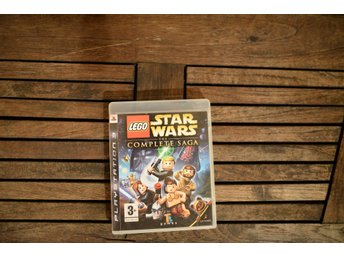 Playstation 3 spel PS3 LEGO Star Wars The complete saga Starwars