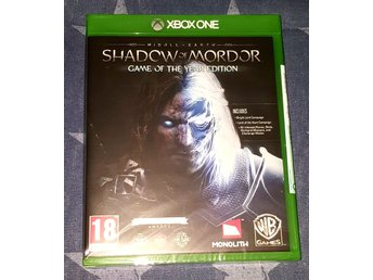 Shadow of Mordor game of the year edition till Xbox one NYTT!
