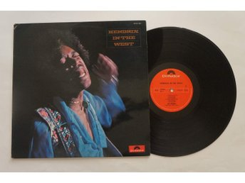 ** Jimi Hendrix ‎– Hendrix In The West **