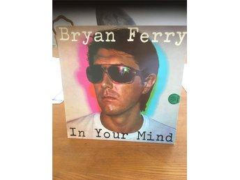 Bryan Ferry, LP, In Your Mind, Roxy Music, Polydor, NOR-77