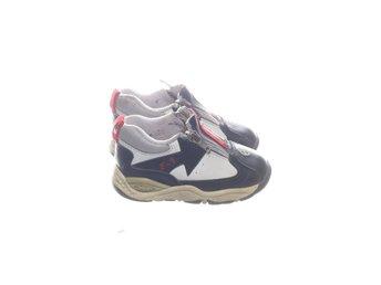 Non Marking, Sneakers, Strl: 22, VitBlå