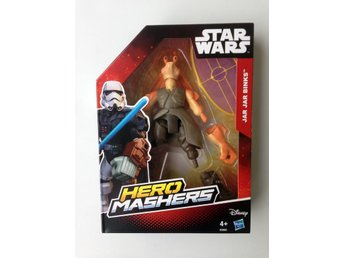 Star Wars Jar Jar Binks Episode 7 HERO MASHERS Force Awakens Stjärnornas Krig