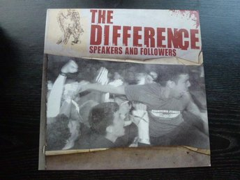 DIFFERENCE - Speakers and followers Valium Italien 2006