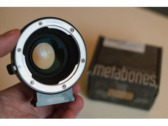 Metabones Speed Booster Leica R till Blackmagic Pocket BMPCC MFT