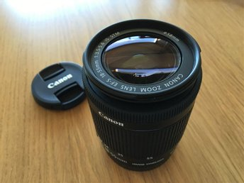 Canon EF-S 18-55/3.5-5.6 IS STM i nyskick
