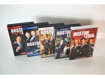 Boston legal - HELA SERIEN 1-5 i nyskick
