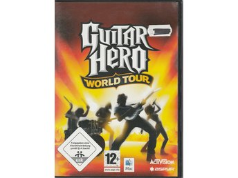 Guitar Hero World Tour (endast spel) - MAC