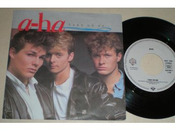 A-Ha 45/PS Take on me 1985 M-