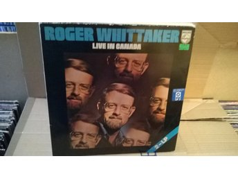 Roger Whittaker With Saffron - Live In Canada, 2 x LP