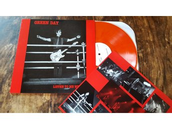 Green Day / Listen To Me Whine / Orange Vinyl / Nyskick/Nypress