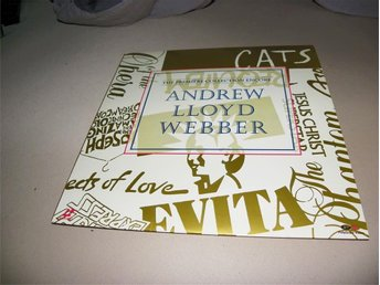 The premiere collection encore - Andrew Lloyd Webber - 1st Laserdisc - Säffle - The premiere collection encore - Andrew Lloyd Webber - 1st Laserdisc - Säffle