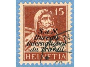 Int. arbetsorg. (BIT/ILO) 1927 M29 stämplad (ST23) - Varberg - Int. arbetsorg. (BIT/ILO) 1927 M29 stämplad (ST23) - Varberg