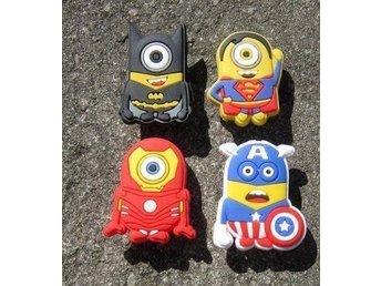 4 skosmycken - MINIONER/Dumma Mej (skosmycke, Crocs, Clogs) Batman,Iron Man m.fl - östra Ljungby - 4 skosmycken - MINIONER/Dumma Mej (skosmycke, Crocs, Clogs) Batman,Iron Man m.fl - östra Ljungby