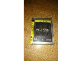Oblivion the elder scrolls IV ps3 Playstation 3