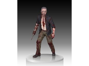 WALKING DEAD: MERLE DIXON WALKER STATUE skala 1/4 av Gentle Giant (Ny)