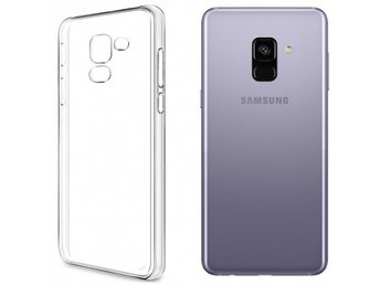 Clear Hard Case Samsung Galaxy A8 Plus 2018 Färg: Transparent